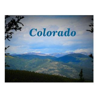 Colorado Mountain Scene Postcard
