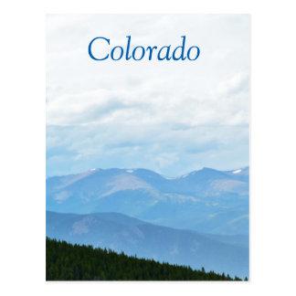 Colorado Mountain Scenery Postcard