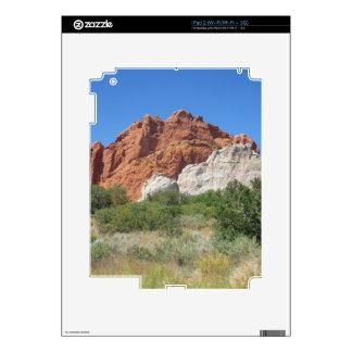 Colorado mountain decal for the iPad 2