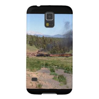 Colorado Mountain Steam Engine Train Galaxy S5 Cover