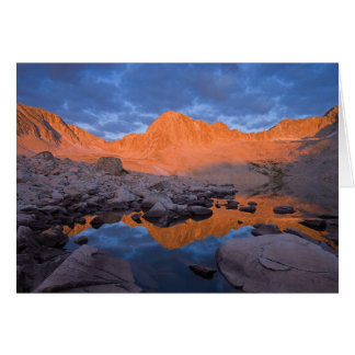 Colorado Mountain Sunrise Card