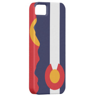 Colorado Mountain Sunset & Flag Case iPhone 5 Covers