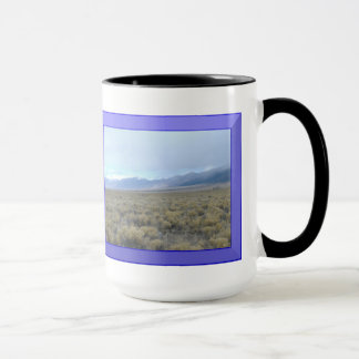 Colorado Mountain Tops 15 Ounce Ringer Mug