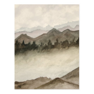 Colorado Mountains Art Gift Postcard