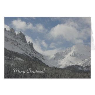 Colorado Mountains Christmas Card