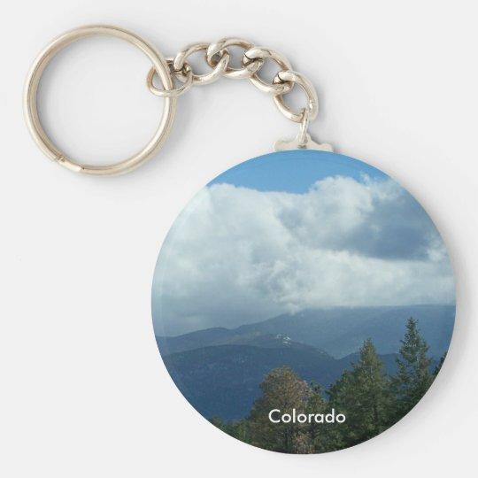 Colorado Mountains Keychain