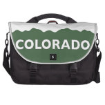 Colorado Mountains Laptop Bag