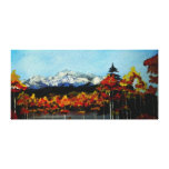 Colorado Mountains Stretched Canvas Print