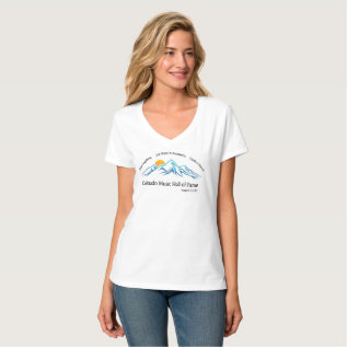 Colorado Music Hall Of Fame Commemorative Tee at Zazzle