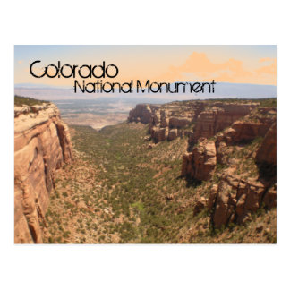 Colorado National Monument Postcard