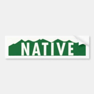 Colorado Native Bumper Sticker