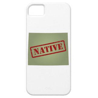 Colorado Native with Colorado Map iPhone 5 Cases