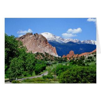 Colorado notecard