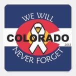 Colorado, nunca olvidaremos al pegatina de no. 2