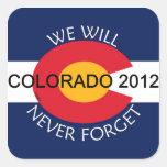 Colorado, nunca olvidaremos no. 1 colcomania cuadrada