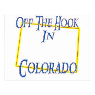 Colorado - Off The Hook Postcard