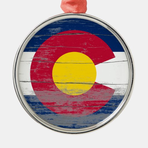 Colorado Old Paint Christmas Tree Ornament