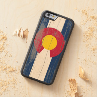 Colorado Old Paint Flag Phone Case Carved® Maple iPhone 6 Bumper