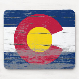 Colorado Old Paint Mouse Pad