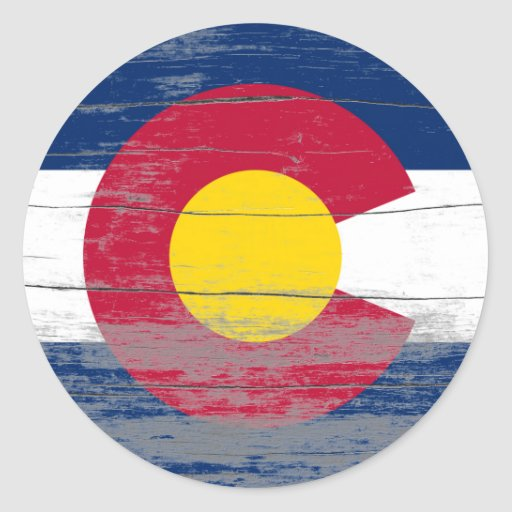 Colorado Old Paint Stickers