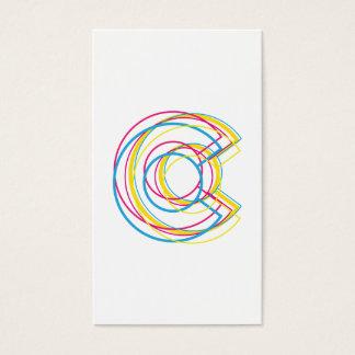 colorado panC Business Card