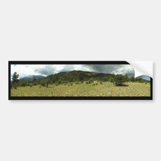 Colorado panorámico etiqueta de parachoque
