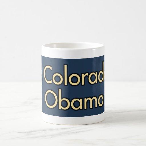 Colorado para la taza de café de Obama