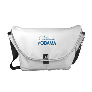 Colorado para Obama - .png Bolsa De Mensajeria