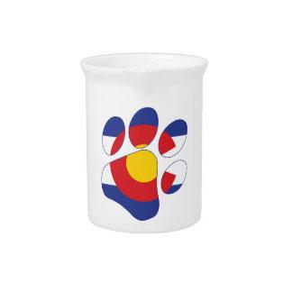 Colorado Paws Beverage Pitcher