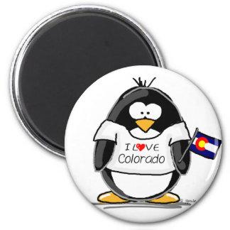 Colorado Penguin Fridge Magnets