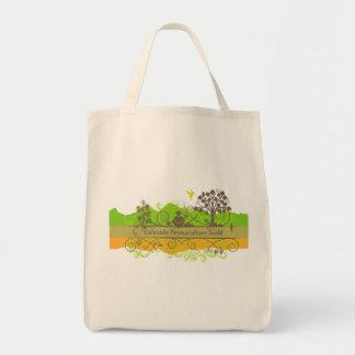 Colorado Permaculture Organic Cotton Bag
