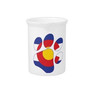 Colorado Pet Paw Drink Pitcher