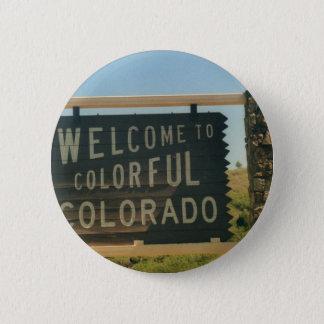 Colorado Pinback Button