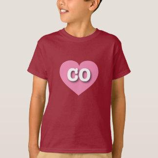 Colorado pink heart - Big Love T-Shirt