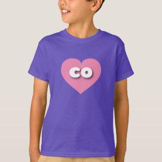 Colorado pink heart - mini love T-Shirt