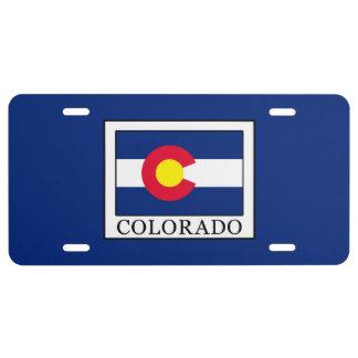Colorado Placa De Matrícula