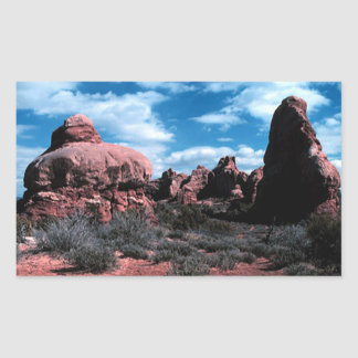 Colorado Plateau Rectangular Sticker
