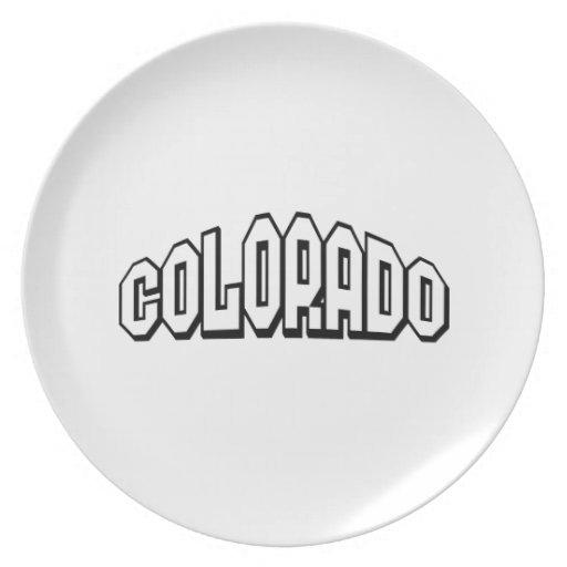 Colorado Plato De Cena