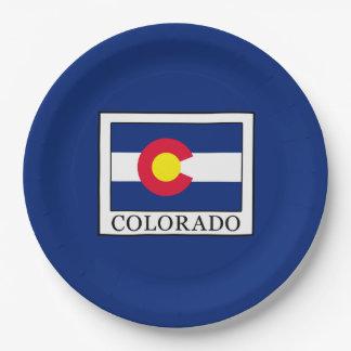 Colorado Platos De Papel