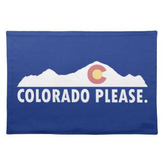 Colorado Please Placemat
