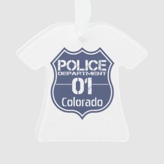 Colorado Police Department Shield 01