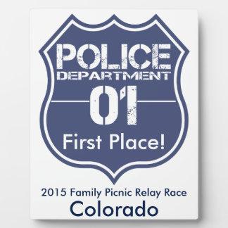 Colorado Police Department Shield 01 Plaque