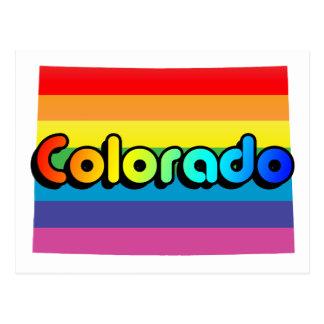 colorado pride. postcard