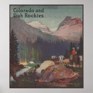 Colorado Railroad Promotional Poster