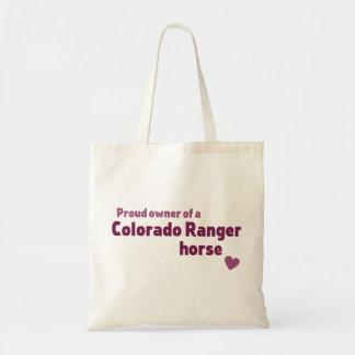 Colorado Ranger horse Tote Bag