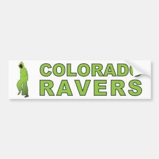 Colorado Ravers Bumper Sticker