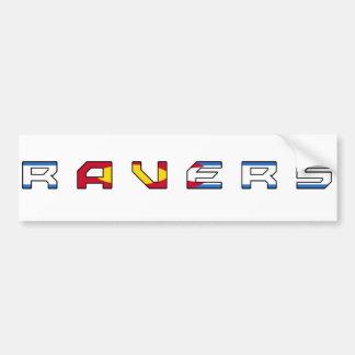 Colorado Ravers Sticker