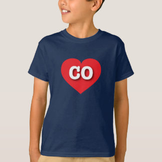 Colorado red heart - Big Love T-Shirt
