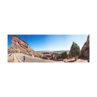 Colorado Red Rocks Arena Canvas Print
