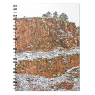 Colorado Red Sandstone Country Dusted with Snow Journals